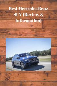 Best Mercedes Benz SUV (Review & Information)